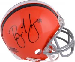 Brian Hoyer Cleveland Browns Autographed Riddell Mini Helmet