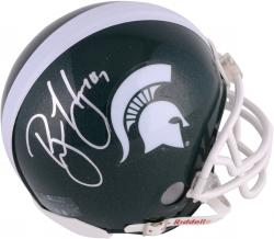 Brian Hoyer Michigan State Spartans Autographed Riddell Mini Helmet