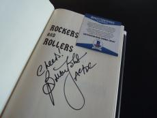 Brian Johnson AC/DC Rockers Rollers Signed Autographed HB Book Beckett Certified