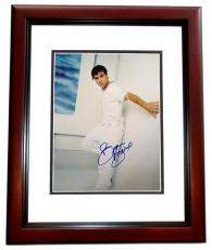 Brian Littrell Signed - Autographed Backstreet Boys 11x14 Photo MAHOGANY CUSTOM FRAME