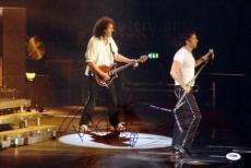 Brian May & Paul Rodgers Authentic Autographed Signed 12x18 Photo Queen PSA/DNA