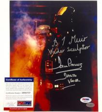 "BRIAN MUIR & DAVE PROWSE Dual Signed ""DARTH VADER"" Star Wars 8x10 photo PSA COA"