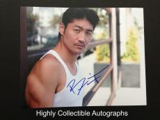 Brian Tee Signed 8x10 Photo Autograph The Wolverine Fast Furious