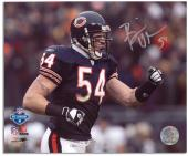 "Brian Urlacher Chicago Bears Autographed 8"" x 10"" Pump Fist Photograph"