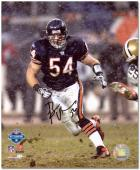 "Brian Urlacher Chicago Bears Autographed 8"" x 10"" Snow Photograph"