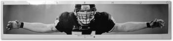 Chicago Bears Brian Urlacher Autographed Poster