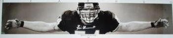Signed Urlacher Picture - Poster 18x72