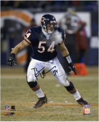 Brian Urlacher Chicago Bears Autographed 8'' x 10'' Photo  - Mounted Memories