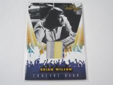 BRIAN WILSON 2013 Panini Beach Boys CONCERT GEAR WORN MATERIAL CARD #1