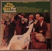 Brian Wilson & Al Jardine Signed Beach Boys Pet Sounds Album w/ Vinyl PSA/DNA