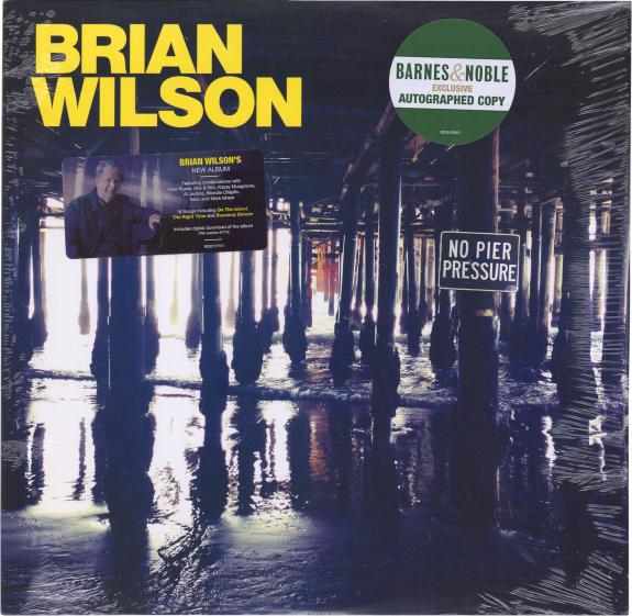 Brian Wilson Autographed No Pier Pressure Album - Barnes and Noble