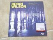 Brian Wilson Beach Boys No Pier Signed Autographed LP Poster Flat PSA Certified