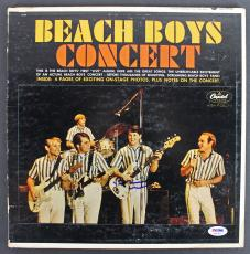 Brian Wilson Beach Boys Signed Album Cover W/ Vinyl Autographed PSA/DNA #AB81063