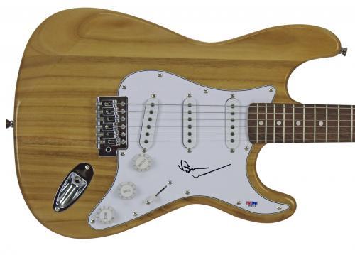 Brian Wilson Beach Boys Signed Natural Electric Guitar PSA/DNA #W79179