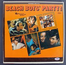 Brian Wilson Beach Boys Signed 'Party' Album Cover W/ Vinyl PSA/DNA #AB81064