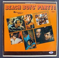 Brian Wilson Beach Boys Signed 'Party' Album Cover W/ Vinyl PSA/DNA #AB81064