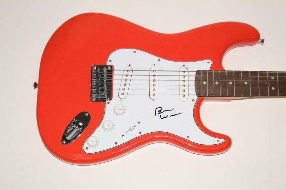 Brian Wilson Signed Autograph Fender Brand Electric Guitar Beach Boys Pet Sounds