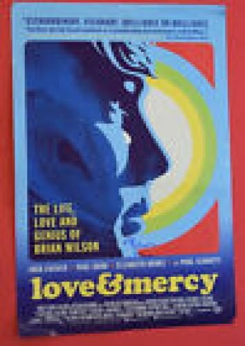 Brian Wilson Signed Autographed 13.5x20 Love & Mercy Movie Poster The Beach Boys