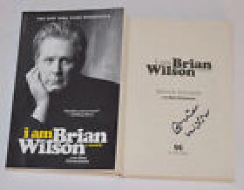 Brian Wilson Signed Autographed I AM BRIAN WILSON SC Book The Beach Boys COA