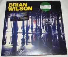 Brian Wilson Signed   Autographed No Pier Pressure Album   LP