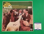 "Brian Wilson Signed Beach Boys ""pet Sounds"" Lp Album Photo Proof Bas Beckett Coa"