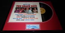 Brian Wilson Signed Framed Beach Boys Greatest Hits Record Album Display JSA