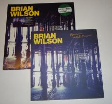 Brian Wilson signed No Pier Pressure Record Album LP Beach Boys w/coa