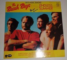 "Brian Wilson signed ""The Beach Boys"" Endless Summer RECORD Album PSA/DNA COA"