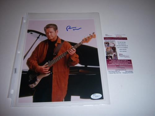 Brian Wilson Autographed Photograph - The Beach Boys Jsa coa 8x10