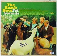Brian Wilson The Beach Boys Pet Sounds Signed Album Cover Psa #w77839