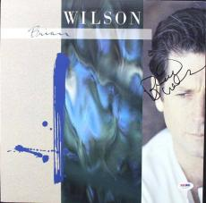 Brian Wilson The Beach Boys Signed Album Cover PSA/DNA #U52965