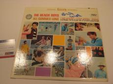 BRIAN WILSON (The Beach Boys) Signed ALL SUMMER LONG Album w/ PSA COA