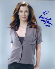 Bridget Moynahan autographed 8x10 photo (Blue Bloods) #NG1 water mark damage