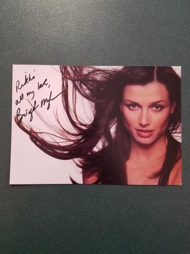 Bridget Moynahan-signed photo-12 - COA
