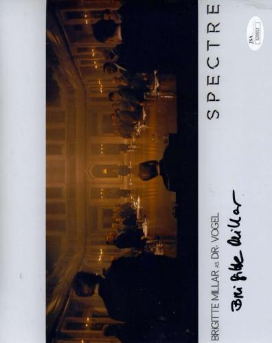 Brigitte Millar Jsa Hand Signed James Bond 8x10 Photo Authentic Autograph