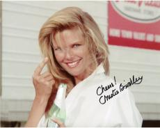 Christie Brinkley Autographed 8'' x 10'' Pointing Finger Photograph