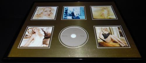 Britney Spears 16x20 Framed Femme Fatale CD & Photo Display