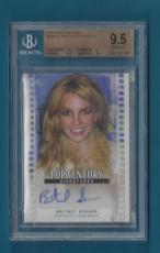 Britney Spears - 2011 Pop Century #BABS2 SP - Beckett Graded 9.5 GEM MINT