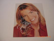 Britney Spears Baby One More Time,oops I Did It Again W/coa Signed 8x10 Photo