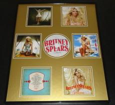 Britney Spears Framed 16x20 Circus CD & Booklet Display