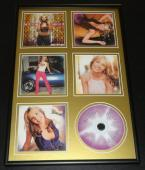 Britney Spears Framed Oops! I Did It Again CD & Photo Display