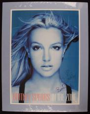 Britney Spears Signed Autographed 16x20 Poster In The Zone JSA Authentic