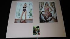 Britney Spears Signed Framed 16x20 Lingerie Photo Display JSA
