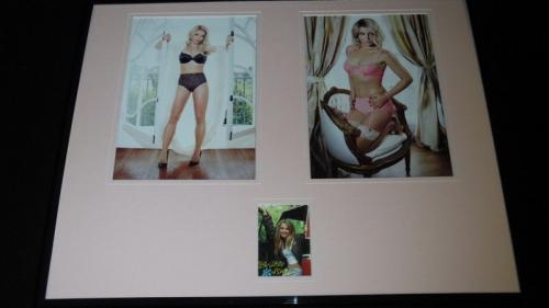 Britney Spears Signed Framed 16x20 Lingerie Photo Display JSA