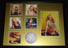 Britney Spears Signed Framed 18x24 Photo & Oops I Did It Again CD Display JSA