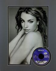 Britney Spears Signed & Matted CD & 16x20 Photo Display Autographed JSA #K55551