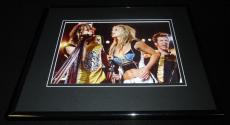 Britney Spears Steven Tyler Super Bowl XXXV Halftime Framed 11x14 Photo Display