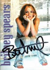 Britney Spears Vintage Signed Trading Card Autographed JSA #K55417