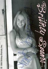 Britney Spears Vintage Signed Trading Card Autographed JSA #K55426