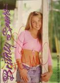 Brittany Spears Signed Autographed Pepsi Trading Card JSA AUTHENTIC COA